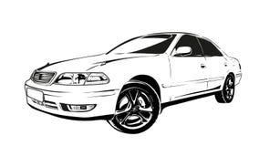 Voiture stylis e d 39 isolement illustration de vecteur illustration du image stylis 52526916 - Dessin voiture stylisee ...