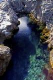 Dérive/Ridge d'Atlantique nord chez Pingvellir ou Thingvellir, Islande Photographie stock