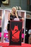 Dérouleur de Chelsea, Jennifer Aniston image libre de droits