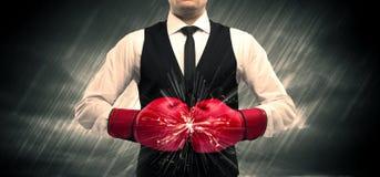 Désaccord de gants de boxe photo libre de droits