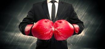Désaccord de gants de boxe Photos libres de droits
