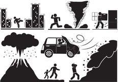 désastre illustration stock