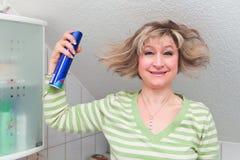 Désastre de coiffure Images stock