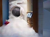 Désastres à la maison Photo stock