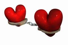 Désenchaînez mon coeur Image libre de droits