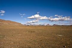 désert à l'intérieur Photo libre de droits