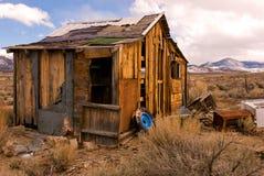 Désert abandonné à la maison Image libre de droits