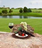 Désert au terrain de golf photographie stock