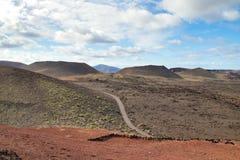 Désert d'îles Canaries photo libre de droits
