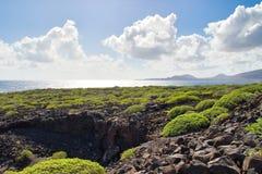 Désert d'îles Canaries photo stock