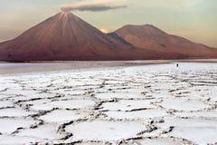Désert d'Atacama au Chili Photo libre de droits