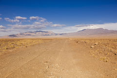 Désert d'Atacama chile Photos libres de droits