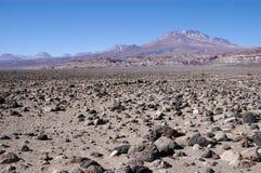 Désert d'Atacama (Chili) Image libre de droits