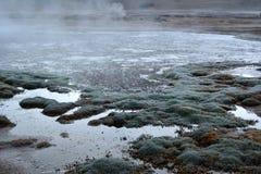 Désert d'Atacama - geyser photos libres de droits