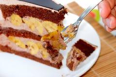 désert de 3 gâteaux Images libres de droits