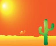 désert de chameau Photographie stock libre de droits