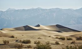 Désert de Death Valley Image stock
