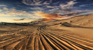 Désert de Dubaï Photo stock
