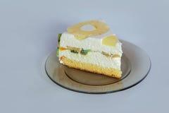 Désert de gâteau de Diplomatico Images stock
