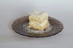Désert de gâteau de Diplomatico Photographie stock libre de droits