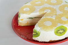 Désert de gâteau de Diplomatico Photo stock