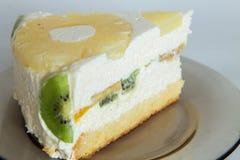 Désert de gâteau de Diplomatico Photo libre de droits