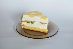 Désert de gâteau de Diplomatico Photos stock