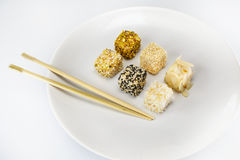 Désert de Japonais de Daifuku Mochi Images stock