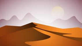 Désert de Judean Pyramide et soleil Photos libres de droits