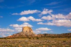 Désert de l'Arizona sur la butte carrée aléatoire des USA 89 Images stock