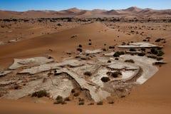 Désert de la Namibie Images libres de droits