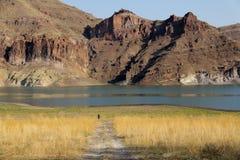 Désert de lac Owyhee, Idaho, Etats-Unis Photographie stock libre de droits