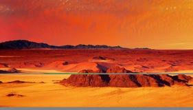 Désert de Namib Images libres de droits