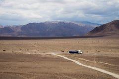 Désert de Nazca, Pérou Photos stock