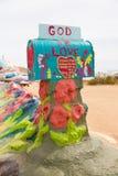 Désert de Niland la Californie de montagne de salut Photos libres de droits