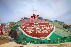 Désert de Niland la Californie de montagne de salut Image libre de droits