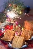Désert de Noël Photo libre de droits