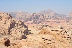Désert de rhum de Wadi photos libres de droits
