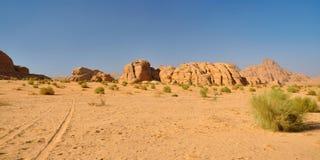 Désert de rhum de Wadi image stock