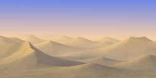 Désert de sable - temps ensoleillé Photos stock