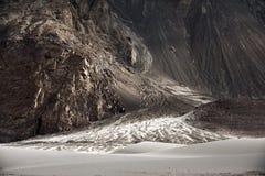 Désert de sable, vallée de nubra Images stock