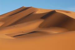 Désert de Sahara Image libre de droits