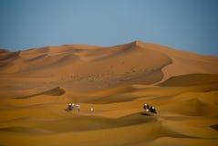 Désert de Sahara au Maroc Image libre de droits