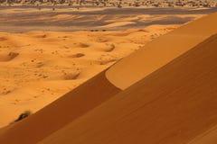 Désert de Sahara Maroc Photos stock