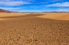 Désert de Sahara, Maroc Photographie stock libre de droits