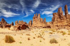 Désert de Sahara, Tassili n'Ajjer, Algérie