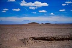 Désert de San Pedro de Atacama au Chili photographie stock libre de droits
