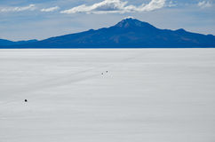 Désert de sel, Uyuni, Bolivie Photo stock