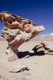 Désert de Siloli en Bolivie Photo libre de droits