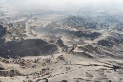 Désert de Volcano Bromo Image stock